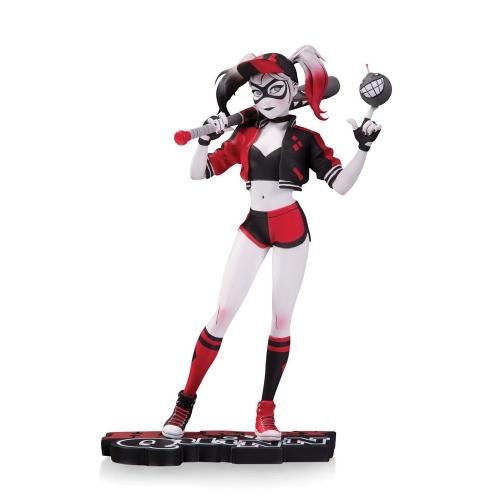 DC Comics - Statuette Red, White & Black Harley Quinn by Mingjue Helen Chen 18 cm