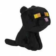 Minecraft - Peluche Happy Explorer Black Cat 18 cm