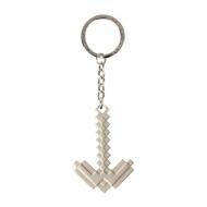 Minecraft - Porte-clés métal Pickaxe 4 cm
