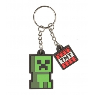 Minecraft - Porte-clés Creeper Sprite 4 cm