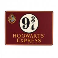 Harry Potter - Panneau métal Platform 9 3/4 21 x 15 cm