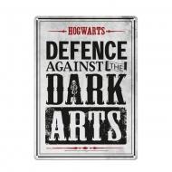Harry Potter - Panneau métal Dark Arts 21 x 15 cm