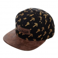 Minecraft - Casquette Snapback All Over
