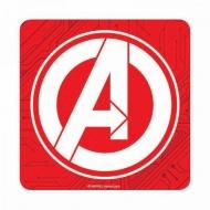 Marvel - Pack de 6 sous-verres logo Avengers