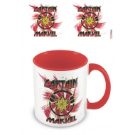 Captain Marvel - Mug Coloured Inner Rock
