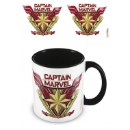 Captain Marvel - Mug Coloured Inner Protector