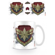 Captain Marvel - Mug Badge