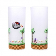 Sonic The Hedgehog - Pack 2 verres Sonic & Eggman