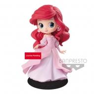 Disney - Figurine Q Posket Ariel Princess robe rose 14 cm