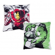 Marvel - Coussin Iron Man & Hulk 40 x 40 cm