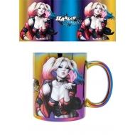 DC Comics - Mug Harley Quinn Metallic Kiss