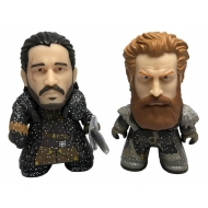 Game of Thrones - Pack 2 figurines Vinyl Titans Jon Snow & Tormund Giantsbane NYCC 2018 Exclusive 8 cm