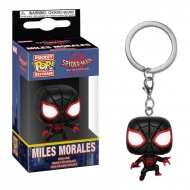 Spider-Man Animated - Porte-clés Pocket POP! Miles Morales 4 cm