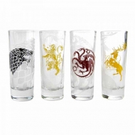 Game of Thrones - Set 4 verres à liqueur Sigils
