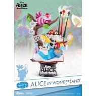 Disney - Diorama Alice au pays des merveilles D-Select 15 cm