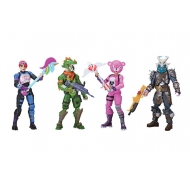 Fortnite - Pack 4 figurines Squad Mode 10 cm