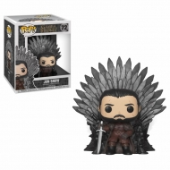 Game of Thrones - Figurine POP! Jon Snow on Iron Throne 15 cm