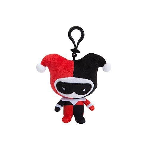 DC Comics - Porte-clés peluche Harley Quinn Chibi Style 10 cm