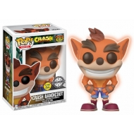 Crash Bandicoot - Figurine POP! Crash Bandicoot GITD 9 cm