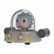 Rick et Morty - Figurine POP! Rick's Ship Space Cruiser 15 cm