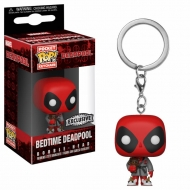Deadpool - Porte-clés Pocket POP! Deadpool Bath Robe 4 cm
