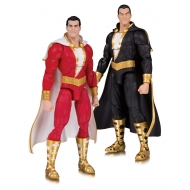 DC Comics - Pack 2 figurines DC Essentials Shazam! & Black Adam 18 cm