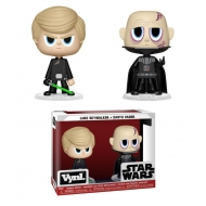 Star Wars - Pack 2 figurines VYNL Darth Vader & Luke Skywalker (ROTJ) 10 cm
