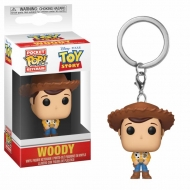 Toy Story - Porte-clés Pocket POP! Woody 4 cm