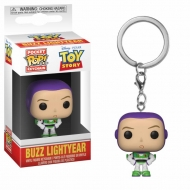 Toy Story - Porte-clés Pocket POP! Buzz 4 cm