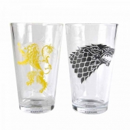 Game of Thrones - Pack 2 verres Stark & Lannister