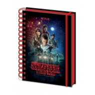 Stranger Things - Cahier à spirale A5 Wiro One Sheet