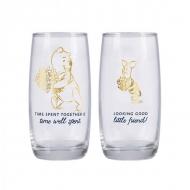 Winnie l'ourson - Pack 2 verres Winnie l'ourson & Porcinet