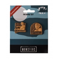 Universal Monsters - Pack 2 badges Mummy & Frankenstein