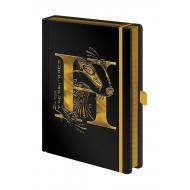Harry Potter - Carnet de notes Premium A5 Hufflepuff Foil