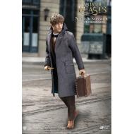 Les Animaux fantastiques - Figurine My Favourite Movie 1/6 Newt Scamander Grey Coat Ver. 30 cm