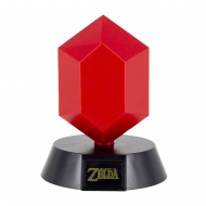 The Legend of Zelda - Veilleuse 3D Rubis Rouge 10 cm
