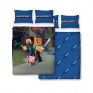 Minecraft - Parure de lit réversible Good Guys 200 x 200 cm / 48 x 74 cm