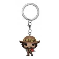 Overwatch - Porte-clés Pocket POP! McCree 4 cm