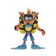 Crash Bandicoot - Figurine Deluxe Scuba Crash 14 cm