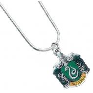 Harry Potter - Pendentif et collier plaqués argent Slytherin