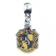 Harry Potter - Breloque plaquée argent Hufflepuff Crest