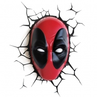 Marvel - Lampe 3D LED Deadpool