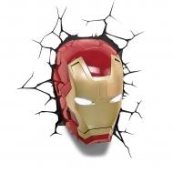 Marvel - Lampe 3D LED Iron Man