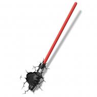 Star Wars - Lampe 3D LED Sabre Laser avec la main de Dark Vador