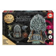 Game of Thrones - Puzzle 3D Monument Iron Throne