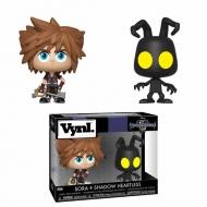 Kingdom Hearts 3 - Pack 2 VYNL figurines Sora & Heartless 10 cm