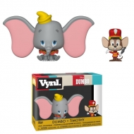 Dumbo - Pack 2 VYNL figurines Dumbo & Timothy 10 cm