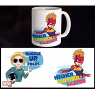 Captain Marvel - Mug Buckle Up