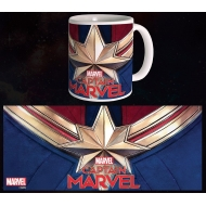 Captain Marvel - Mug Logo