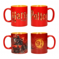 Harry Potter - Pack 2 mugs céramique Logo & Hogwarts Express